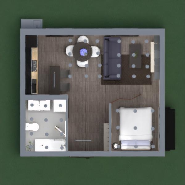 Apartamento simples e moderno.