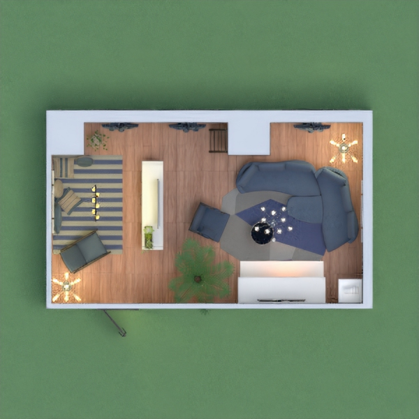 this is my living room, its blue and grey. its very cozy, and there is a comfy zone on the left. i hope u vote for me, i will vote for whoever votes and leaves their link.