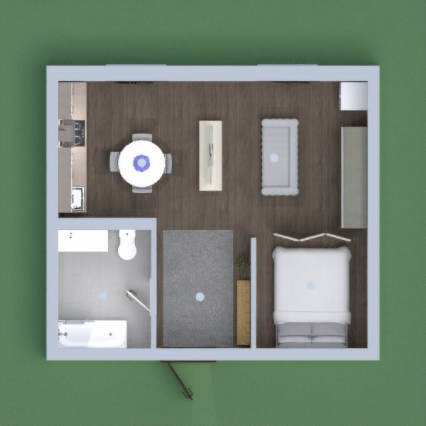 Small space for an apartment