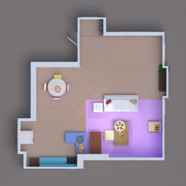 A great replica of Monica's apartment and a identical kitchen.  Hope you like it!