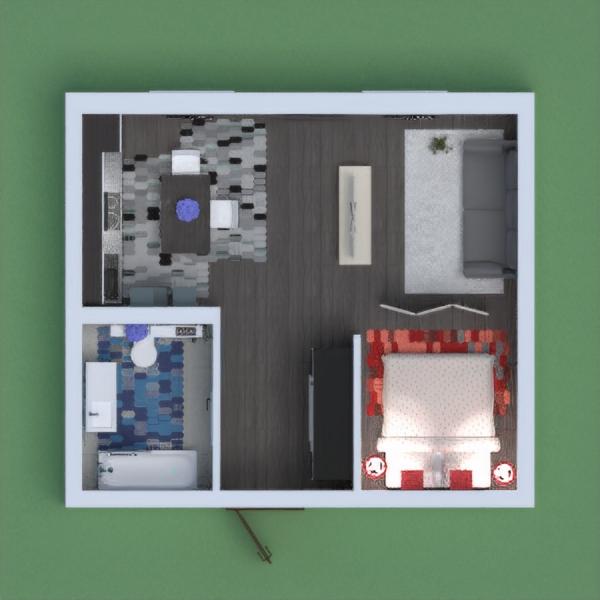 small flat interior