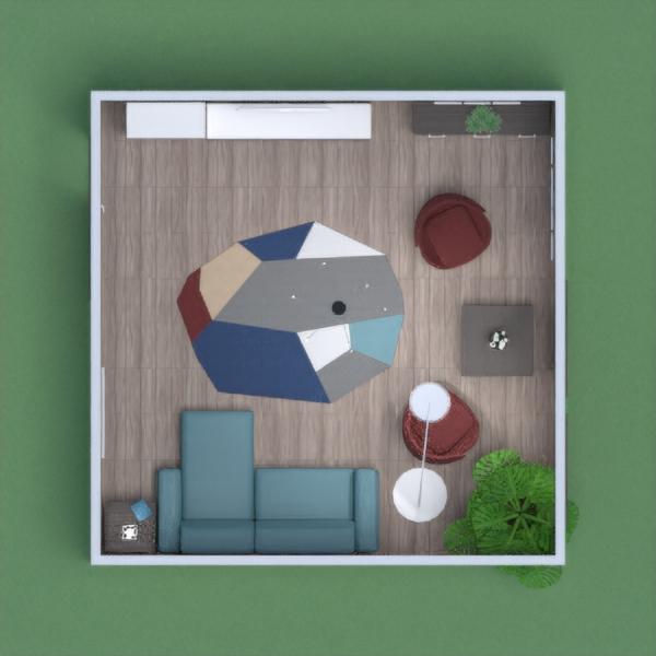 Гостиная с картинами. Living room with paintings.
