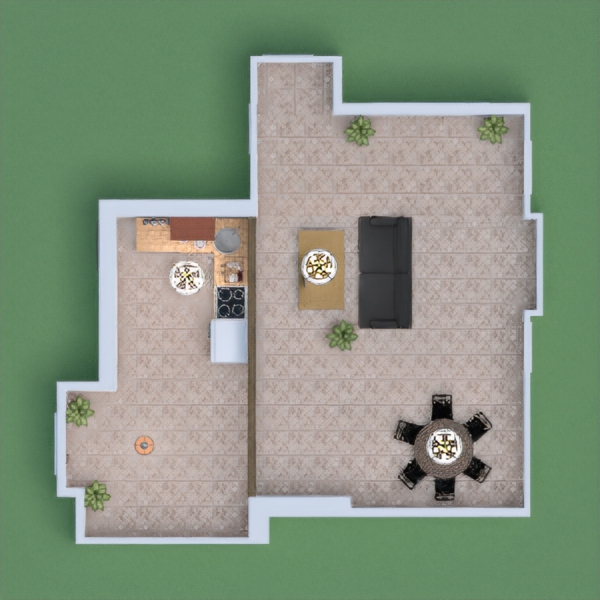 is a house with now bedroom and with everything you need and don´t be greety