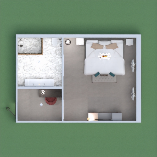 This is my hotel room. I tried to change the colors of my items, but they won't let me :( If you think that I deserve a vote, please do it! I would love to hear your opinion! Even though this wasn't my best. Thanks!