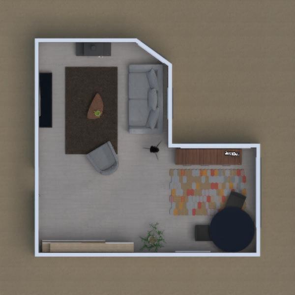 Ein gemütliches Wohn und Arbeitszimmer.