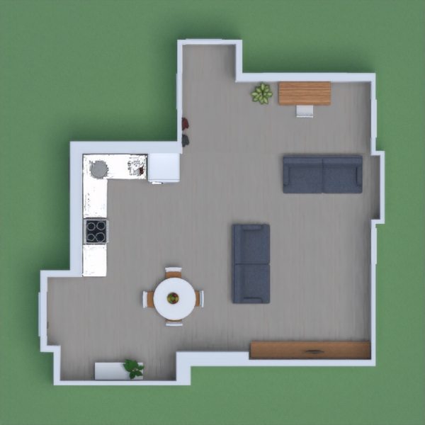 Projeto Com sala e cozinha!