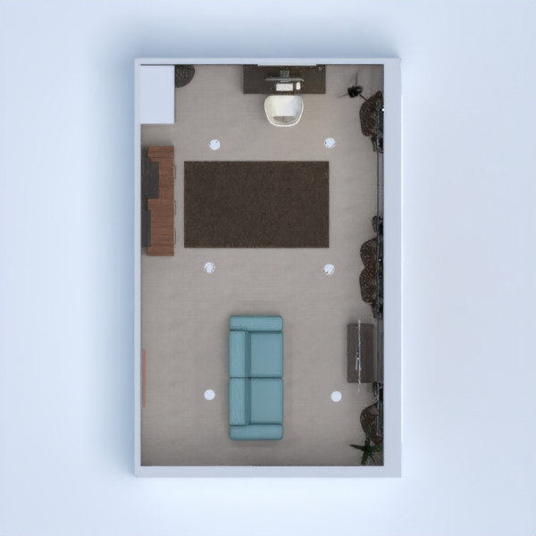 Living Room + Office = My creation