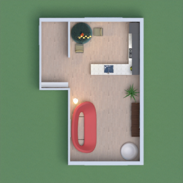 My project is based on a smaller version of what I would I describe as a modern home. I really liked picking out the decor and things to make the home look welcoming.