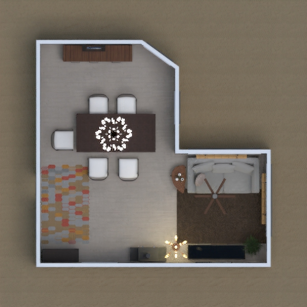 It is a tiny modern house by me (a 9 year old boy)