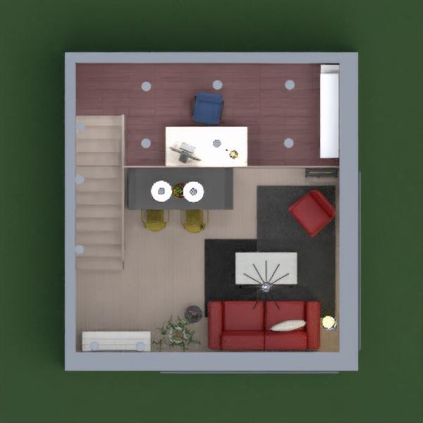De Stijl movement inspired (Mostly by Piet Mondrian painting) loft design.