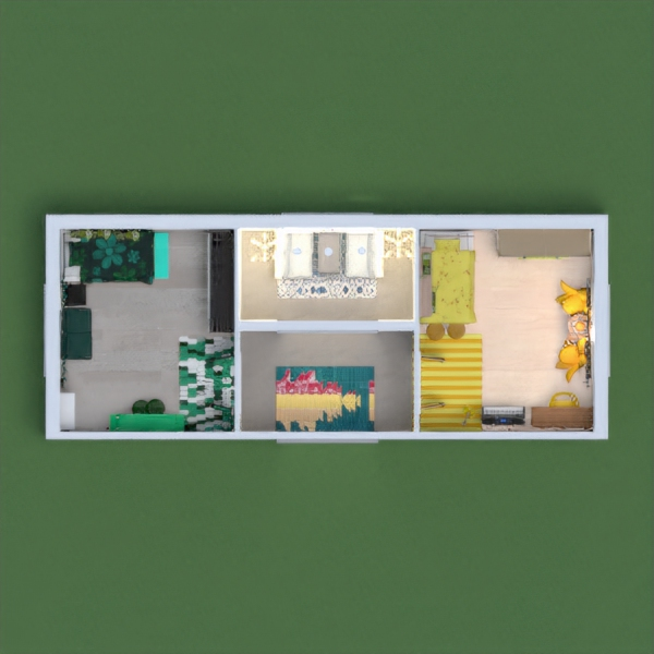 Hello! So today, I made a yellow bedroom and a green bedroom. In the green bedroom, I used green, black, and a slightly blue green. And in the yellow bedroom I used gold, yellow, and light brown. I hope you like it because it took me an hour! Please comment and vote if you would like! My youtube channel is Izzy_Moonlight. Enjoy! -Izzy :)