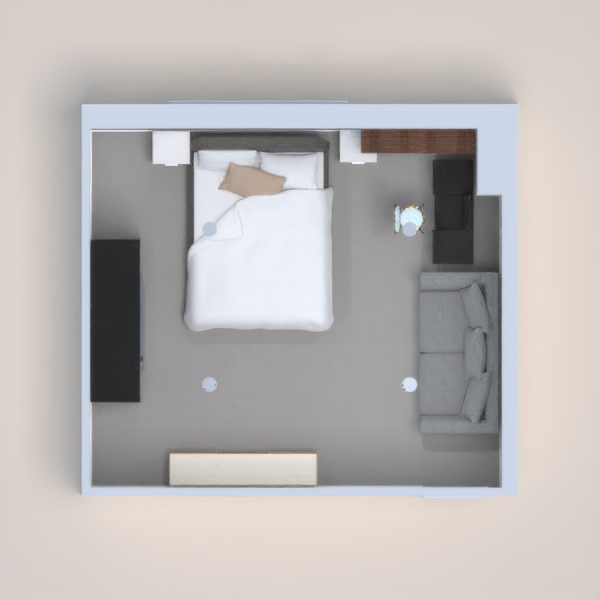 This is a nice modern room