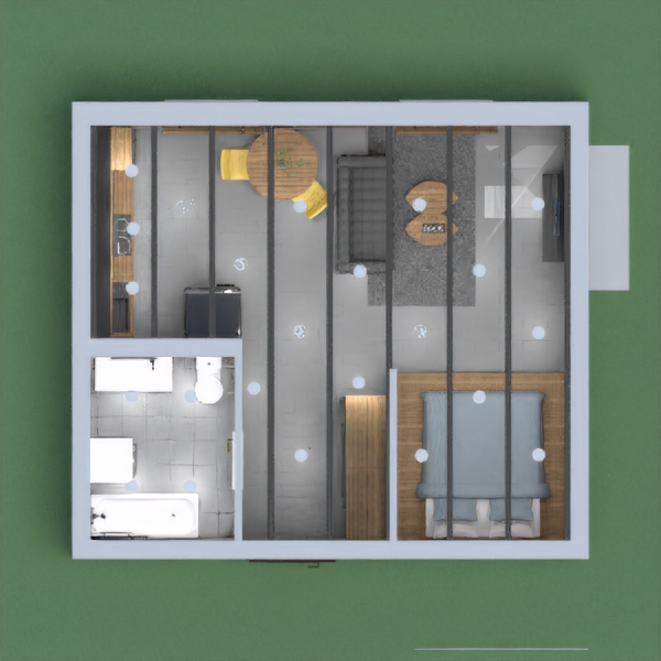 this is a loft style apartment