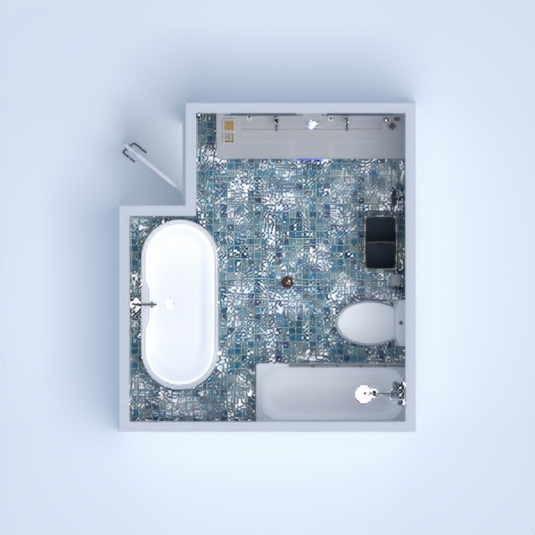 My Project is the Design of a Simple Bathroom with all of the necessary Utilities that are needed. I also added in the Blue Theme