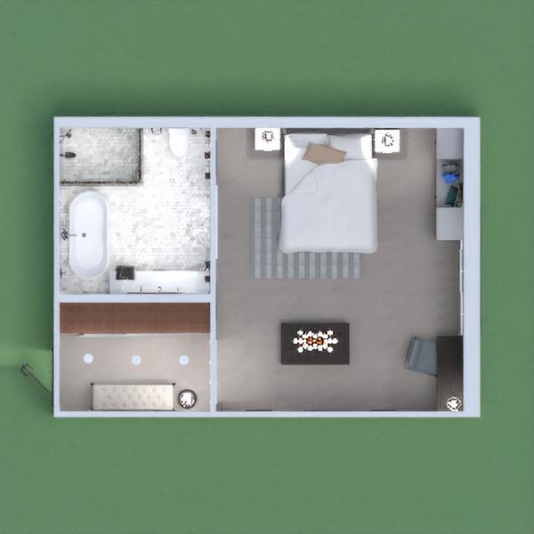 Suite de hotel contemporâneo