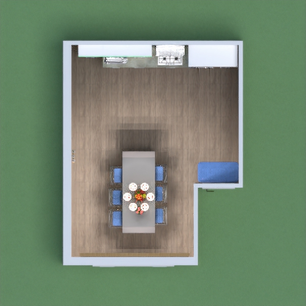 My project Is a comfortable kitchen and has lots of space