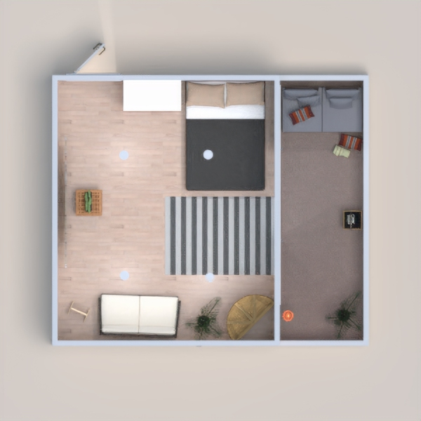 This is the minimalist house and there is a nice balcony.When you enter in,you feel relax I think.I hope you will like:)