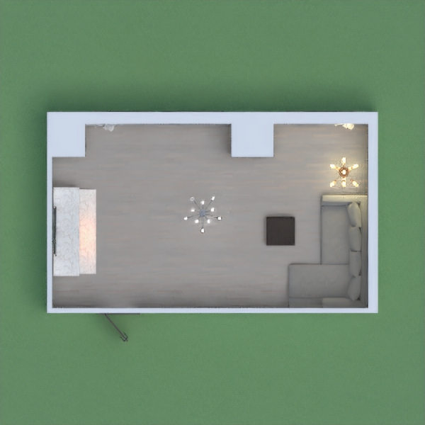 A simple, modern living room