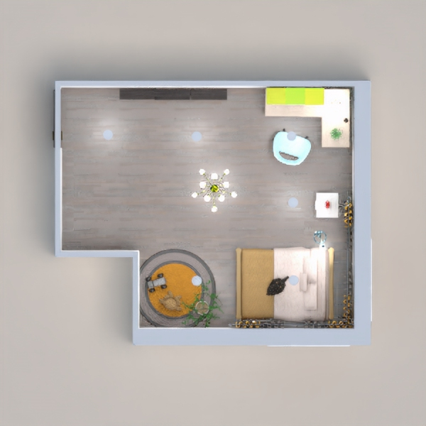 a nice modern room for all kids ages. It took me a long time to make it so I hope you like it. I would love to live here.