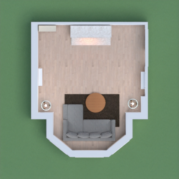 a cute little lounge with lots of room for a family.
