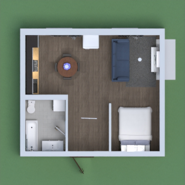 My project is an apartment for two.