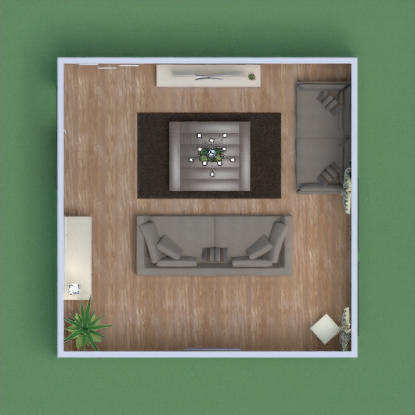 A basic family living room or for someone who may have just moved into a new house after living with parents.  I went for a worm colour throw out the room with some greenery and other colours in the pictures.  Enjoy, Miss E Thomson
