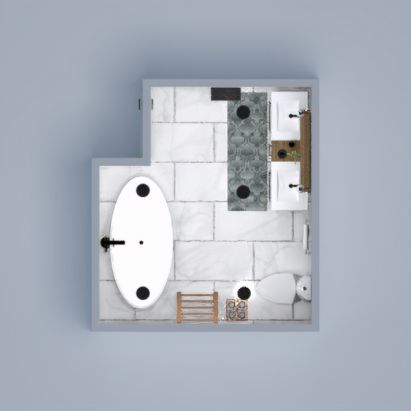 The correct combination of colors can completely change our bathroom and give it an individual and unique touch.