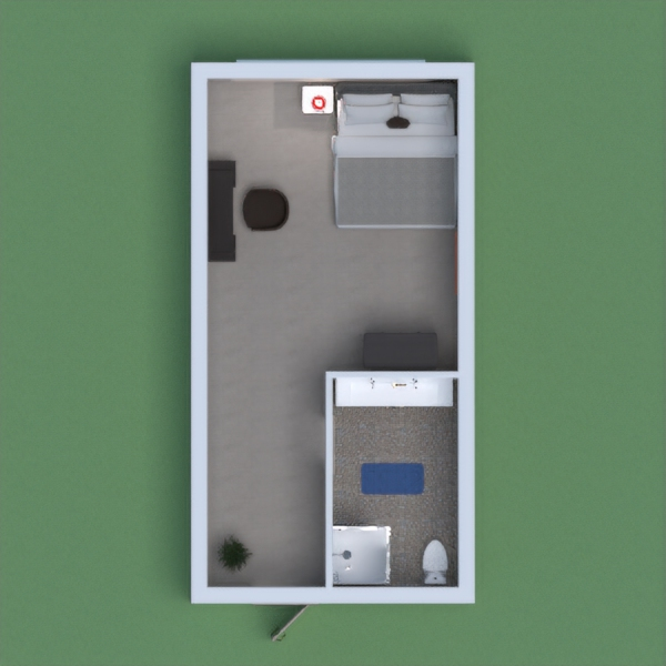 Hi!,this is a project that has a bedroom and a bathroom.I hope  you enjoy this! (^o^)