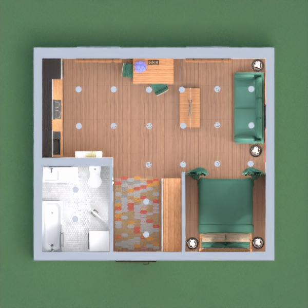 Small but cozy apartment. Please vote for me!