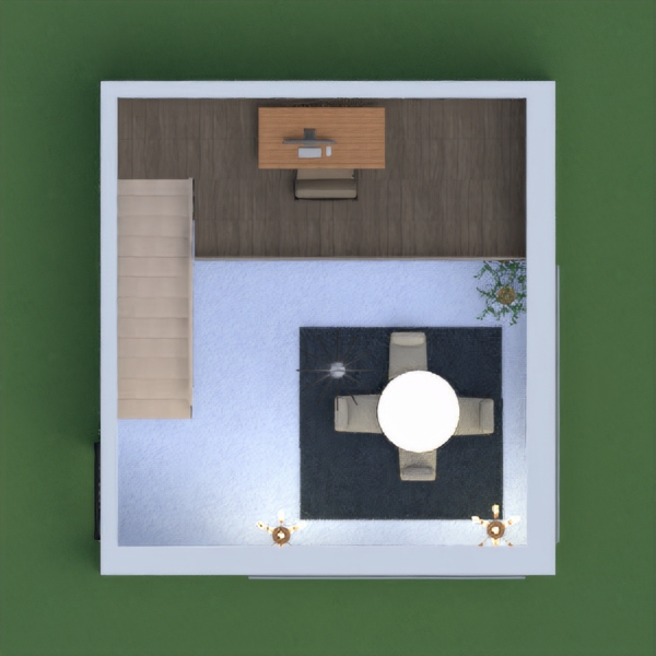 So this is is my house! the kitchen sets where to big to fit.  Down stairs is the living room and the second floor is the office. Please post your opinions in the comments.