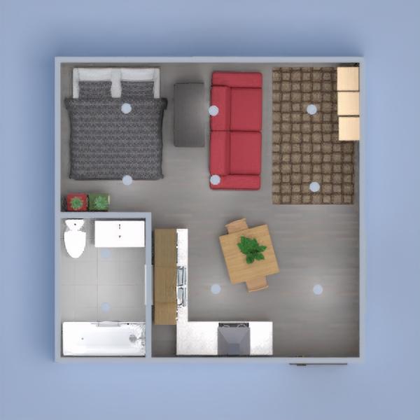 Small boho apartment.