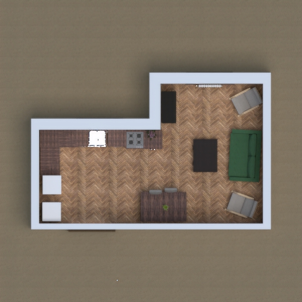 wooden cozy home