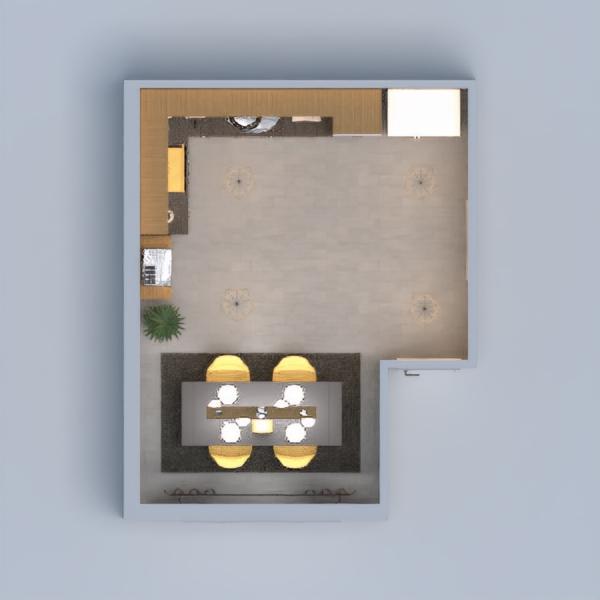 I just made a kitchen that I would like to see in my home.