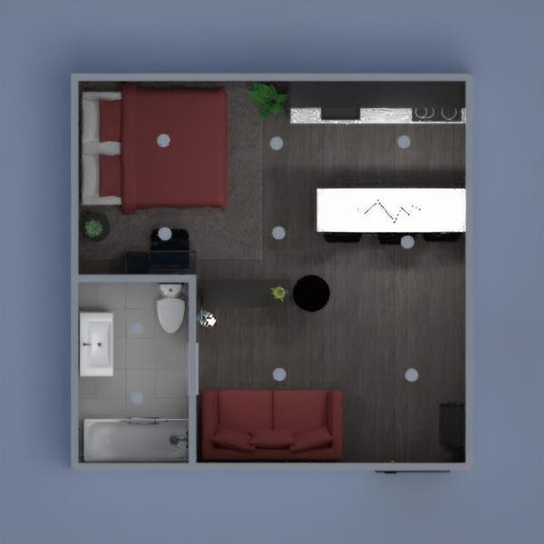 Loft aconchegante, cores vibrantes, decoração soft, moderno...