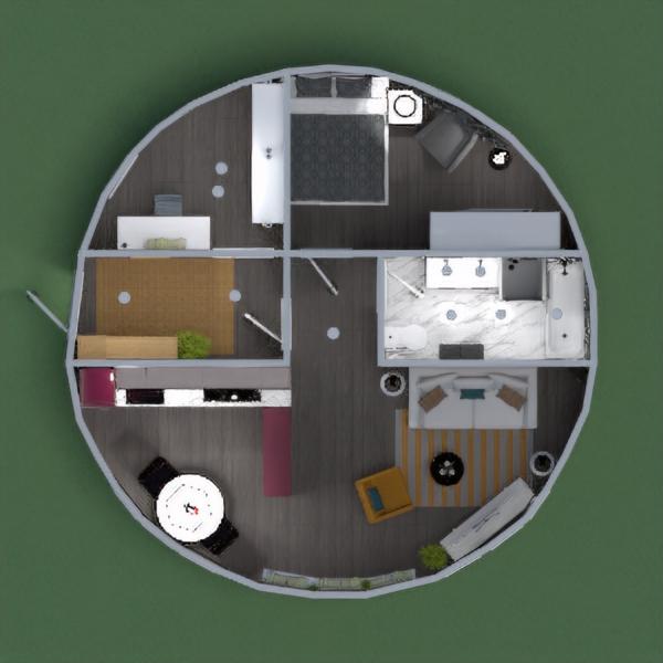 Un apartamento redondo, con líneas muy definidas. by Remadi image