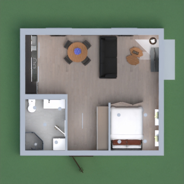 Small Apartment Interior