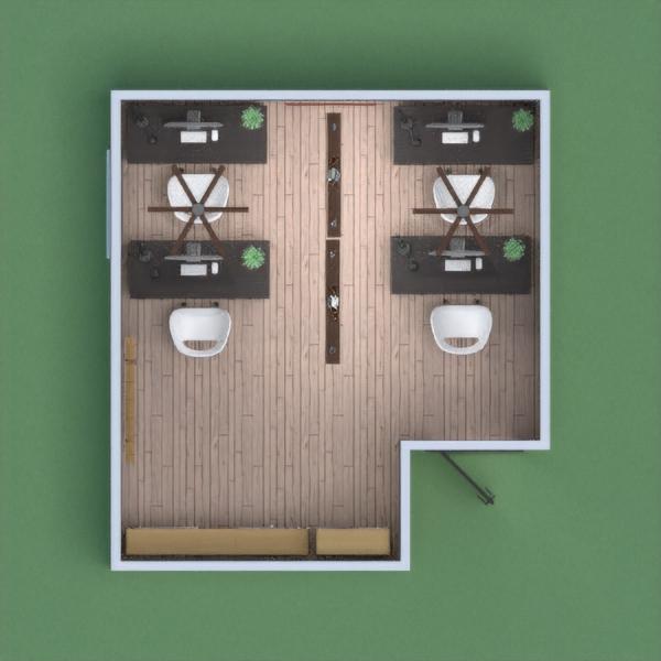 Oficina pequeña, y moderna pero con las medidas de seguridad necesarias (distanciamiento social) y con un buen ambiente.