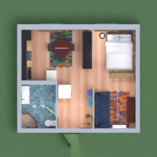 Small Apartment Interior is ready..